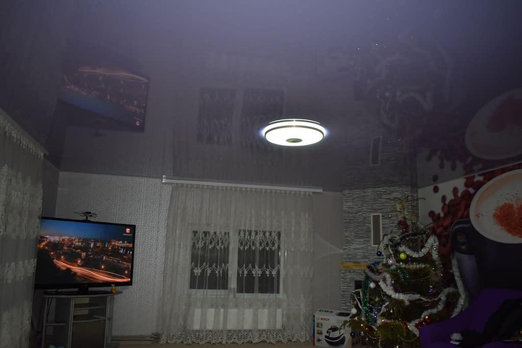 глянцевый натяжной потолок в г.Житомир